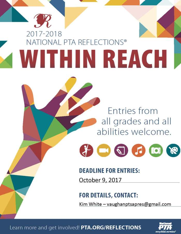 2017-18 Reflections Flyer