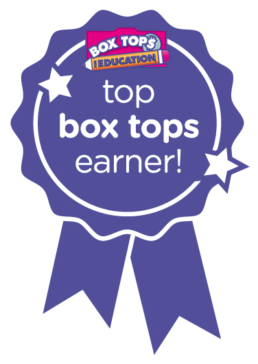 Box Tops Award Earner Badge