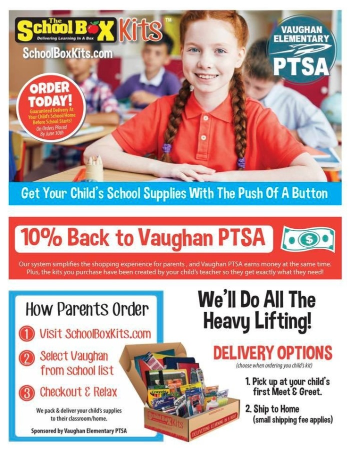 School Supply Flyer